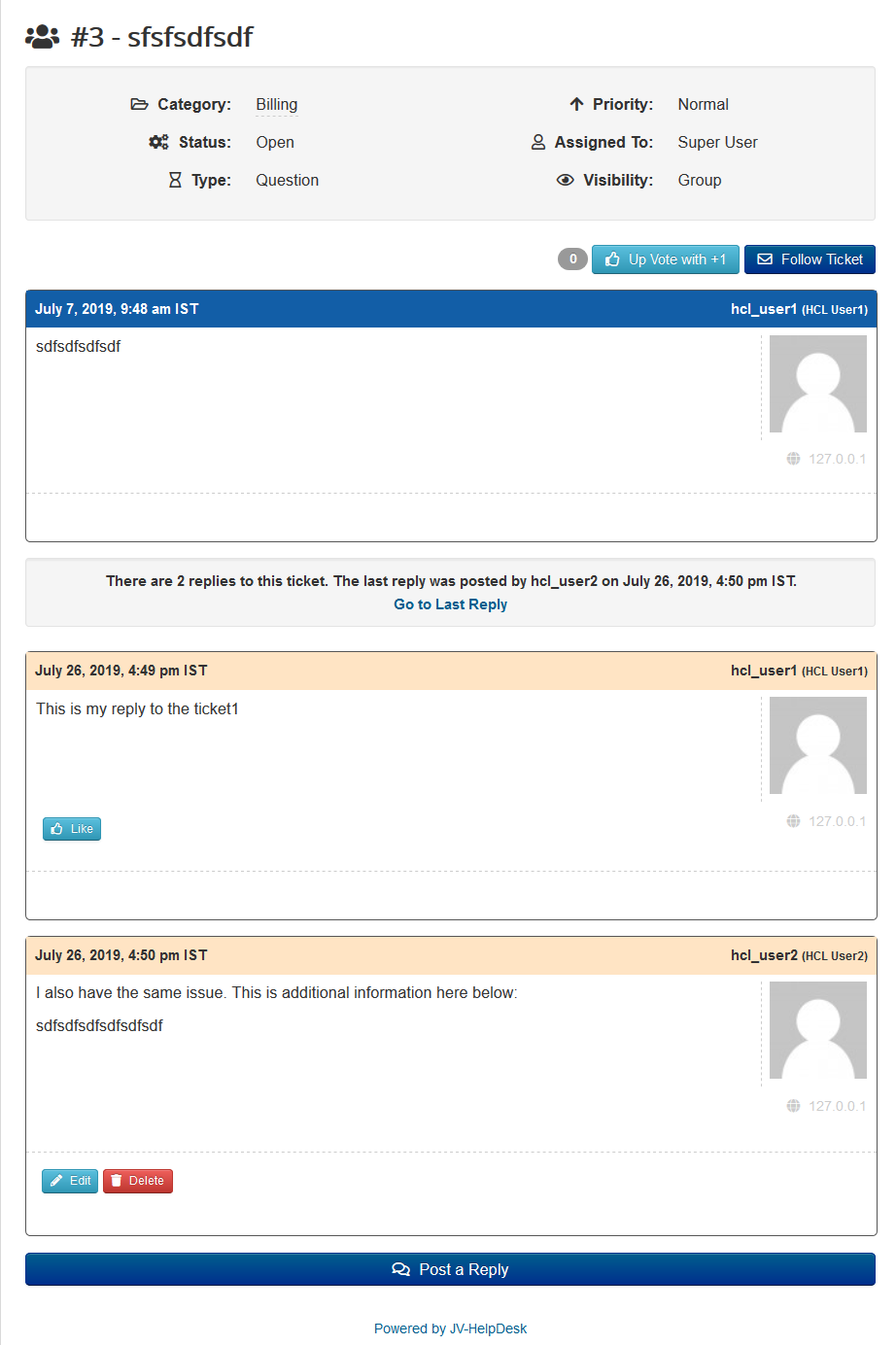 jvhd-group-ticket JV-HelpDesk Pro v2.4 Update - Group Tickets and Confidential Replies
